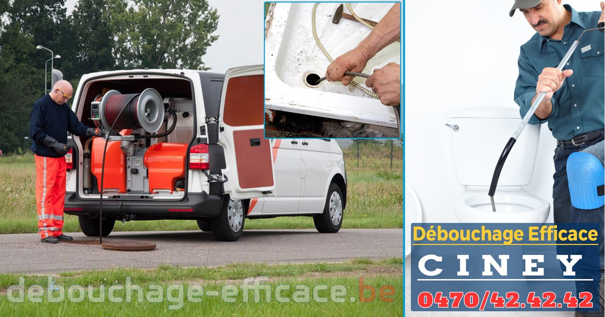 Débouchage Ciney Efficace Service 24h/24